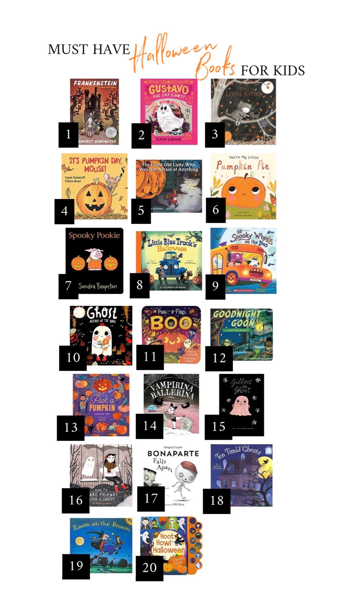 Must Have Halloween Books forKids